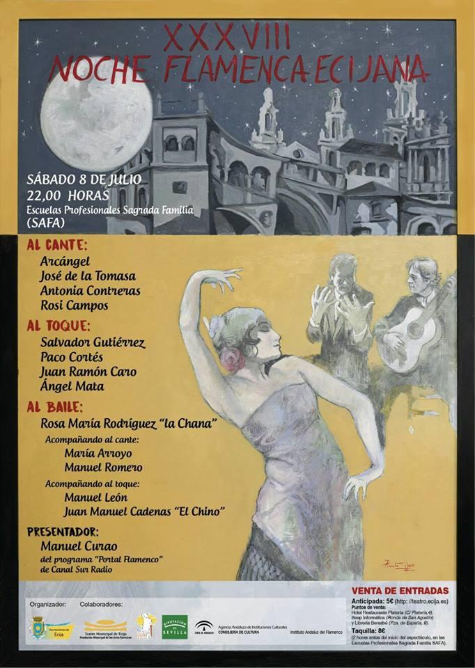 Noche flamenca ecijana